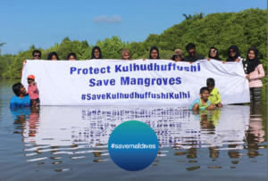 Save Maldives is a citizen-led environmental collective who are extremely concerned about irreversible environmental destruction